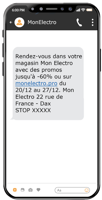 Envoi SMS Marketing