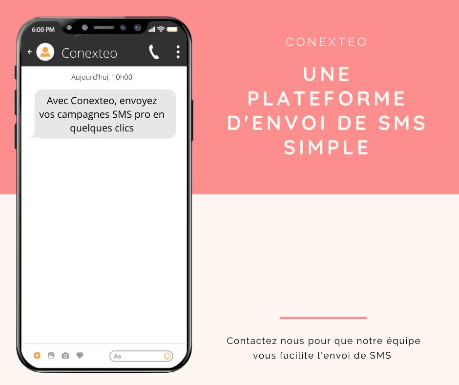 Conexteo votre plateforme SMS professionnelle