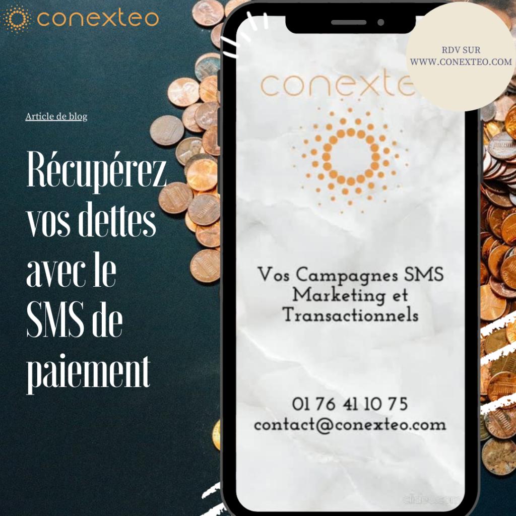 SMS de paiement : Envoyez directement votre lien par SMS