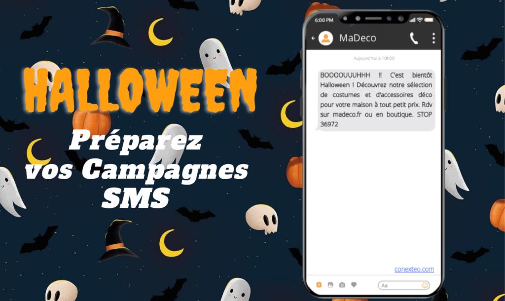 Vos SMS publicitaires pour Halloween