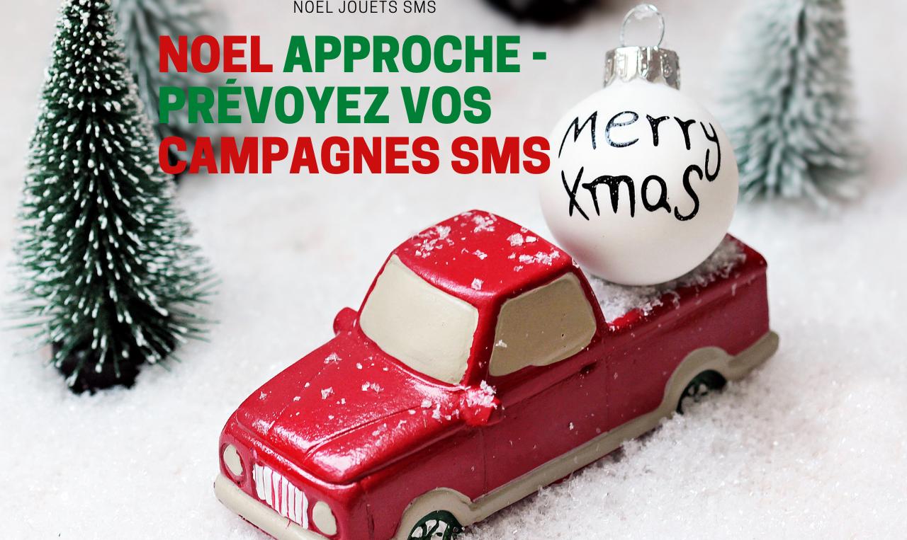 Magasin de jouets et SMS – Noël approche
